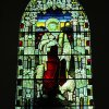 \'The Good Shepherd\' stained glass window